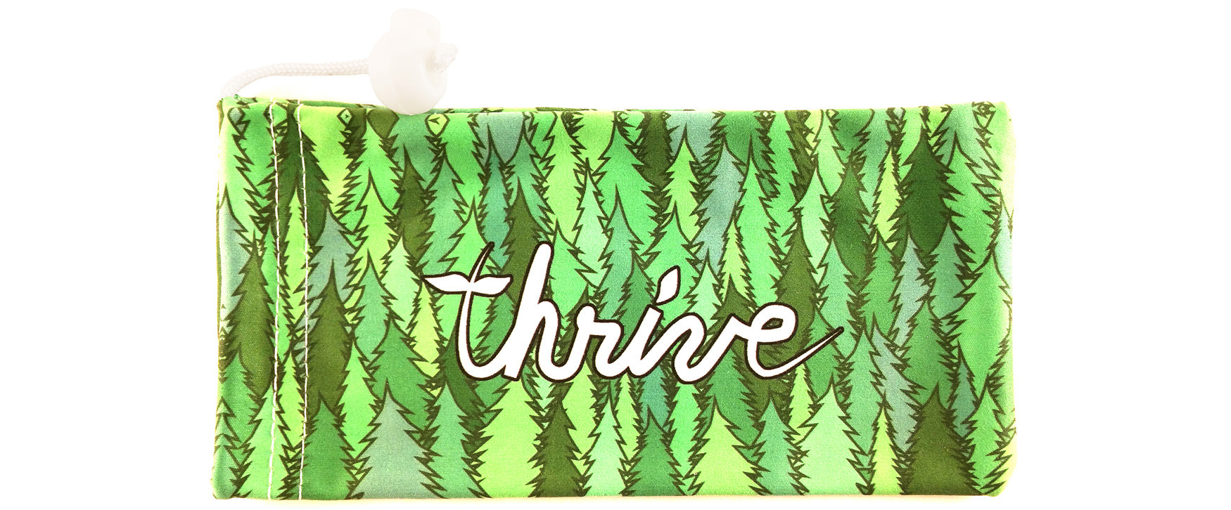 Free premium microfiber pouch with every pair of Thrive Shades!